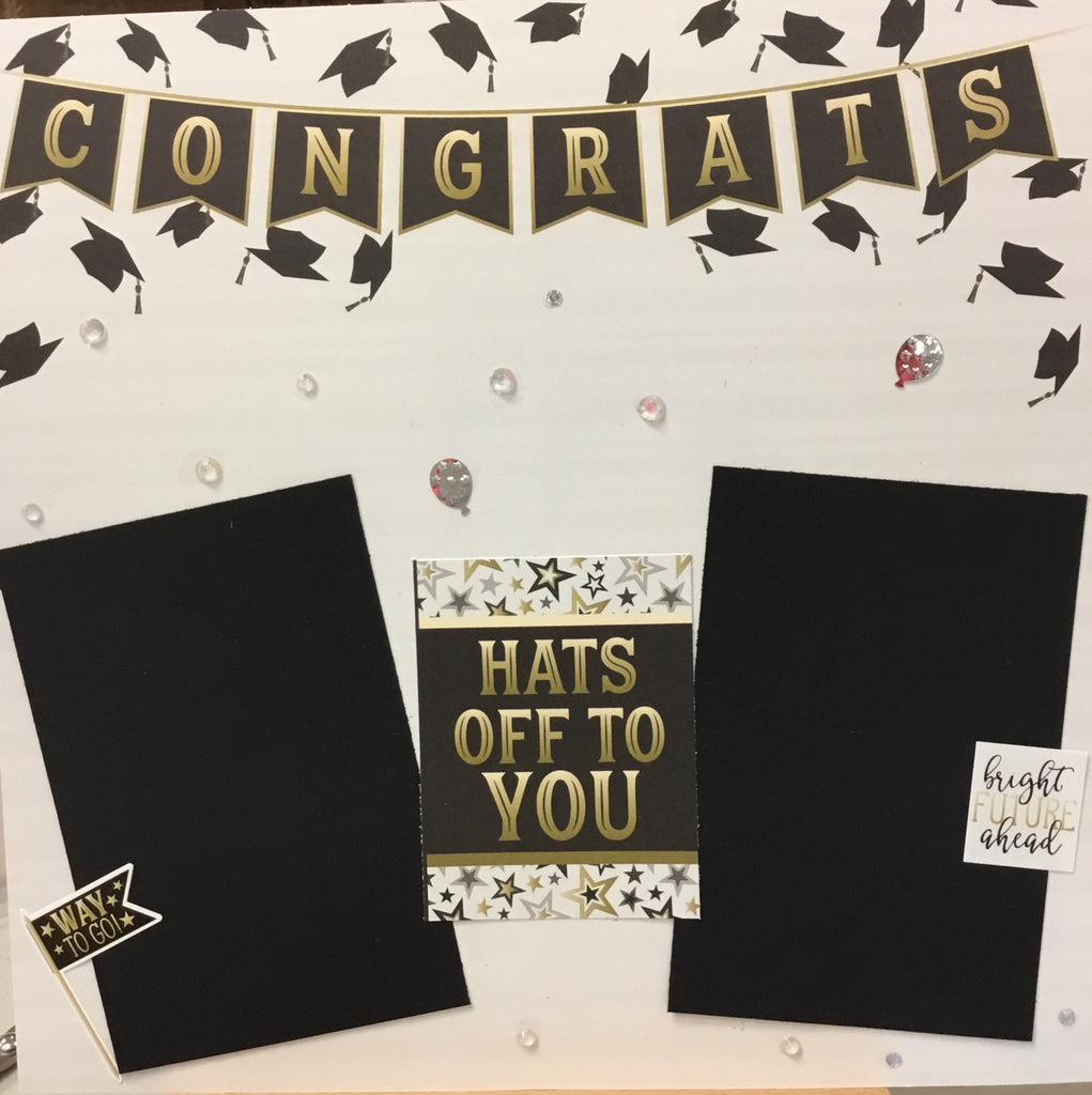 Graduation kit 4 pages