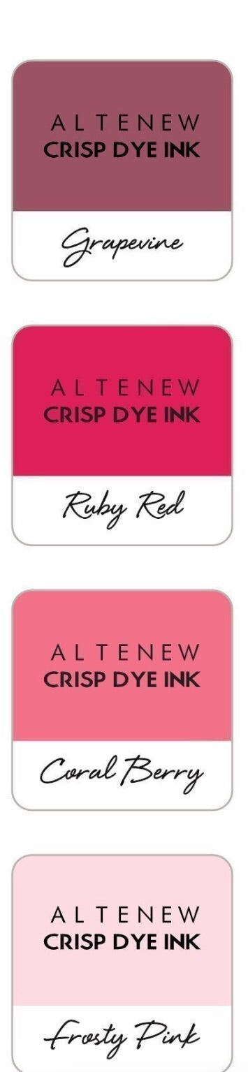 Altenew Crisp Dye Inks- Red Cosmos
