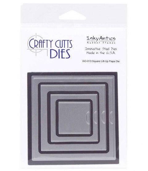 Crafty Cutts Dies- square lift-up flaps