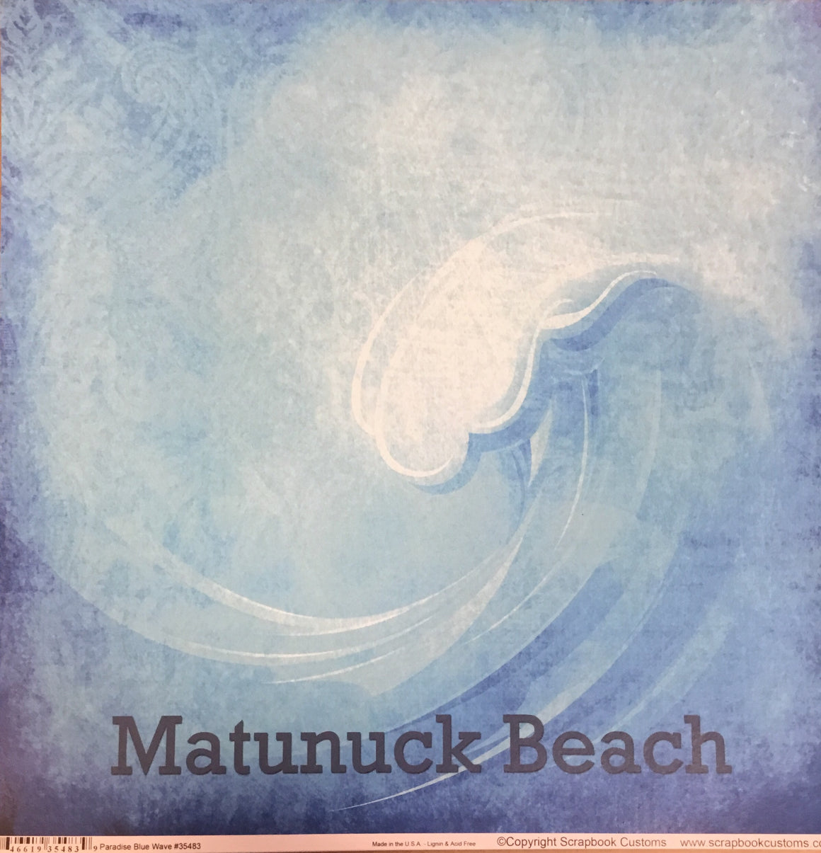 Matunuck Beach 12x12 single sheet
