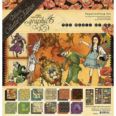 12x12 The Magic of Oz collection kit