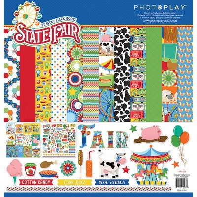 State Fair 12 x 12 paper pack collection kit
