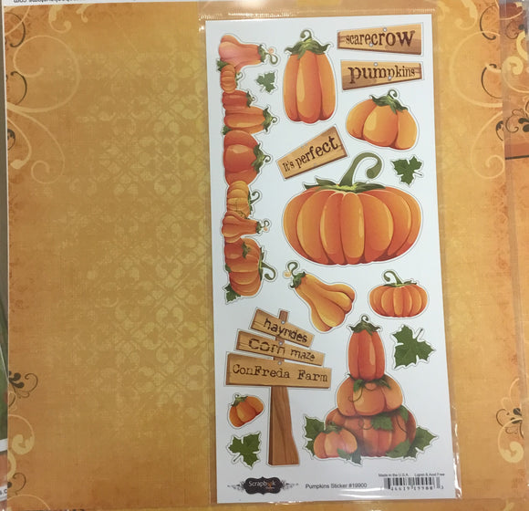 12x12 Con Freda Farm kit w/ 1 custom paper, 1 companion paper, 1 custom sticker sheet