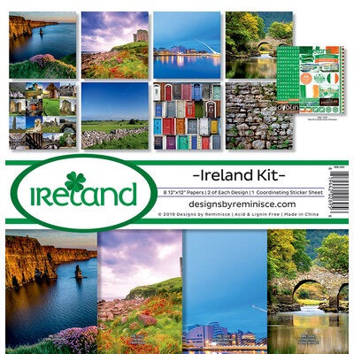 Designs by Reminisce- Ireland 12x12 collection kit