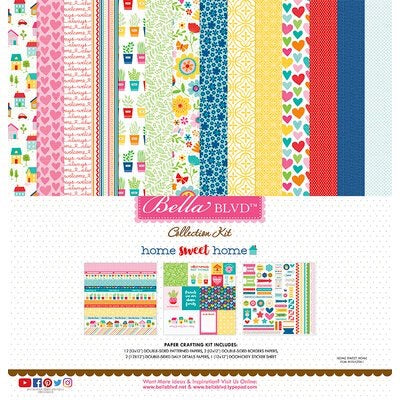 Bella BLVD 12x12 home sweet home  collection kit