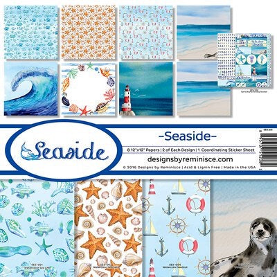 Designs by Reminisce- Seaside 12x12 collection kit