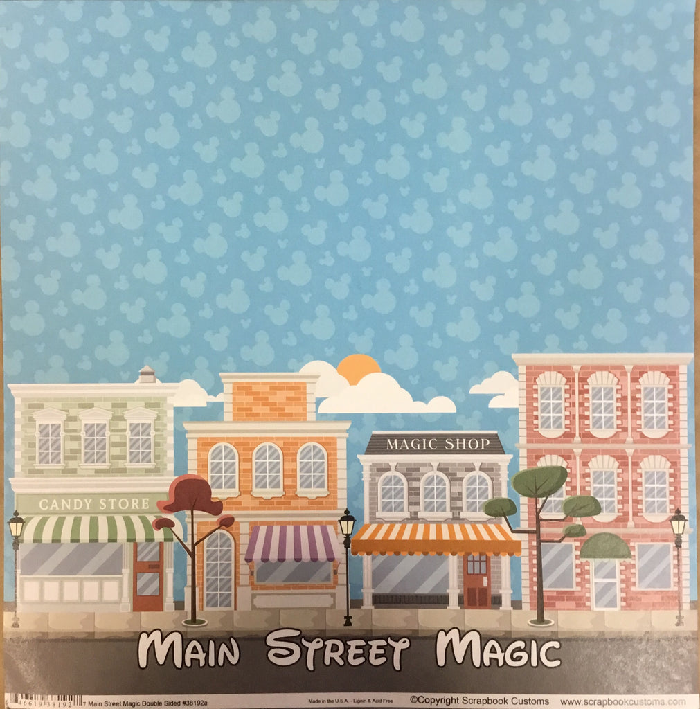 Main Street Magic 12x12 single sheet