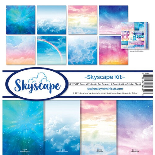 Designs by Reminisce- skyscape 12x12 collection kit