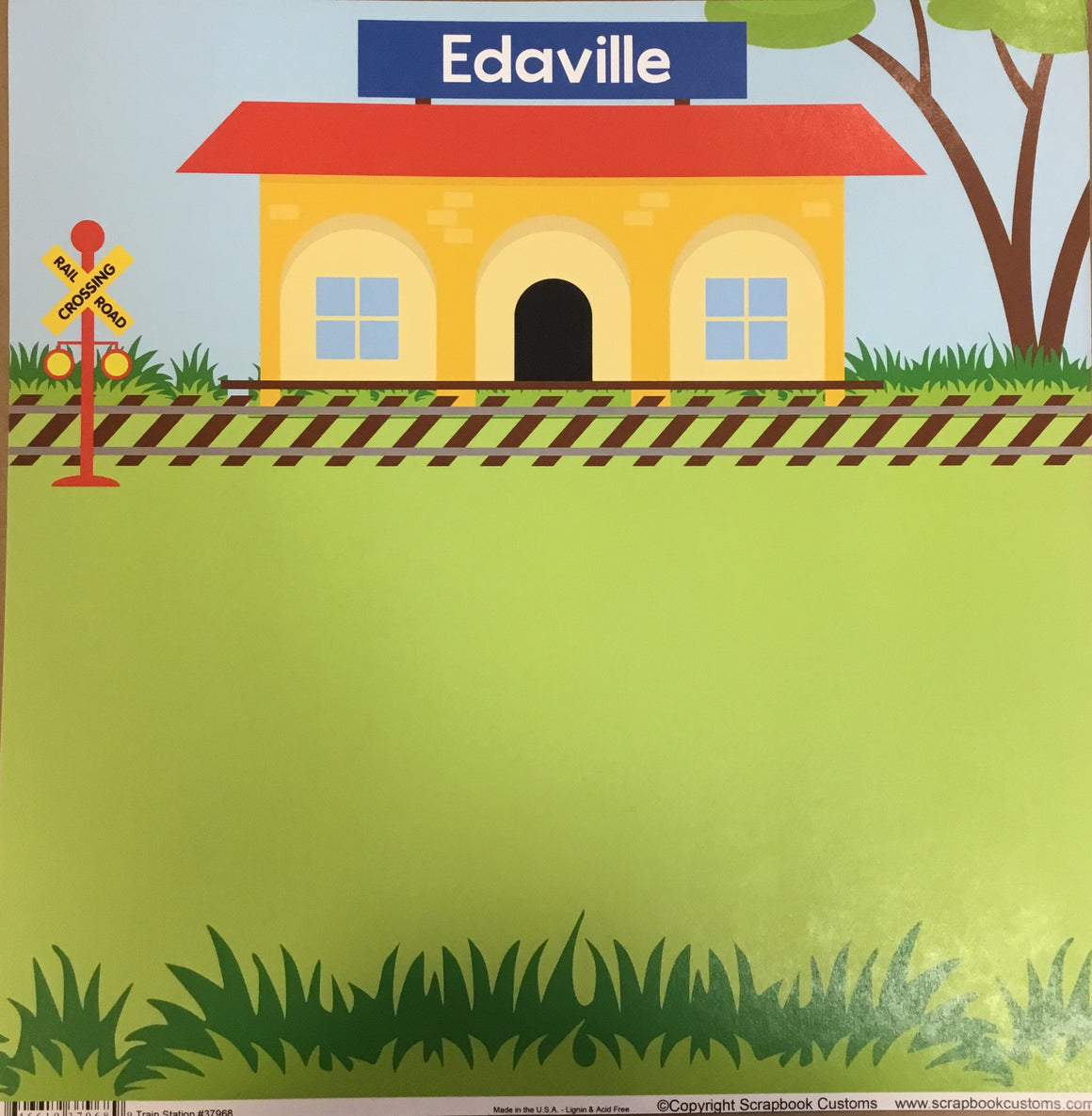 Edaville 12x12 single sheet