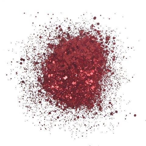 Creative Expressions cosmic shimmer glitterbitz- Apple red