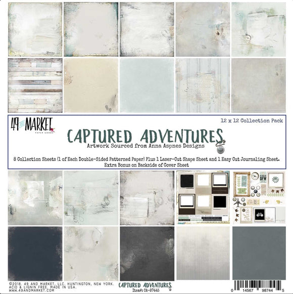 Captured Adventures 12x12 collection pack