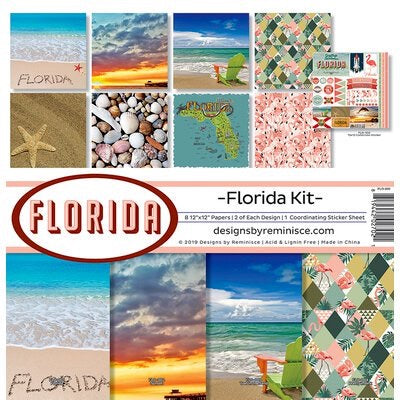 Designs by Reminisce- Florida 12x12 collection kit