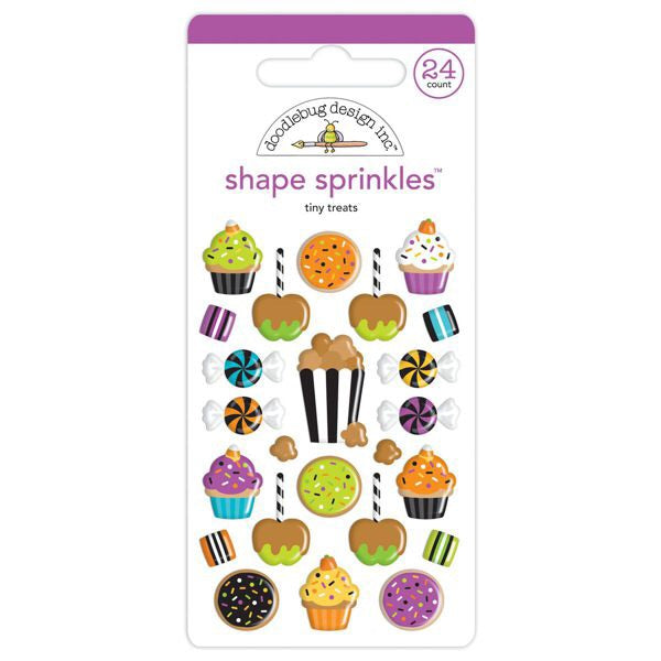 Shape sprinkles tiny treats
