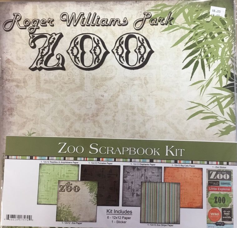 Roger Williams Park Zoo 12x12 kit