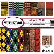 Designs by Reminisce- wizard 101 12x12 collection kit