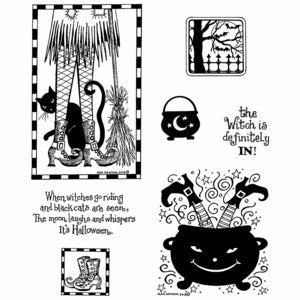 Northwoods Rubber Stamps- Witch's Legs
