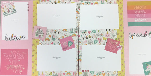 Dream big 6 page layout kit