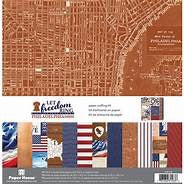 Paper House Productions- Let Freedom Ring Philadelphia D.C. 12x12 collection kit