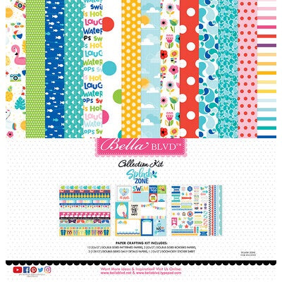Bella BLVD 12x12 splash zone collection kit