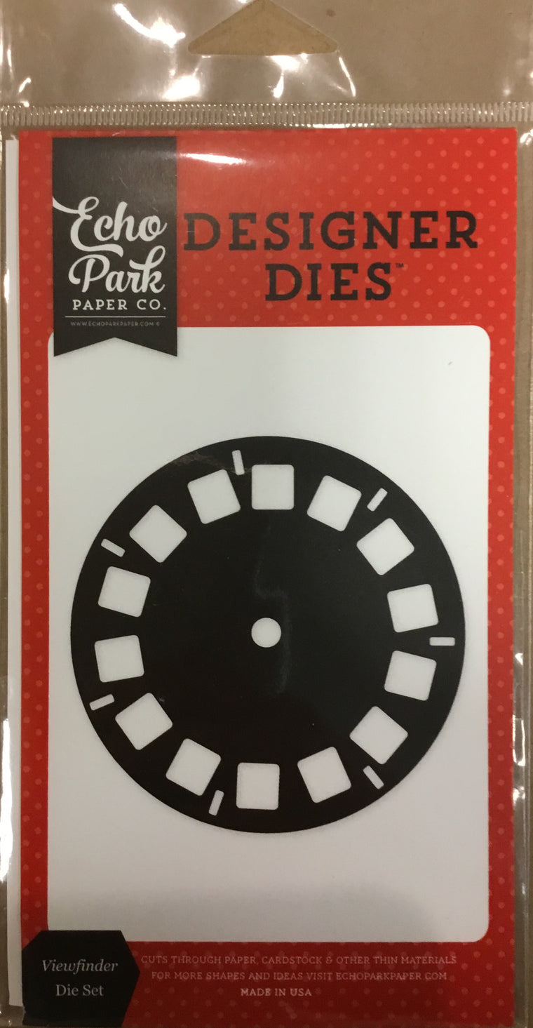 Echo Park  Paper co. - designer dies viewfinder die set