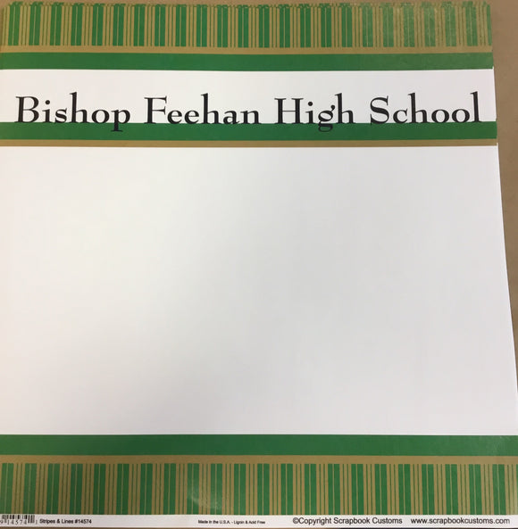 Bishop Feehan High School stripes & lines
