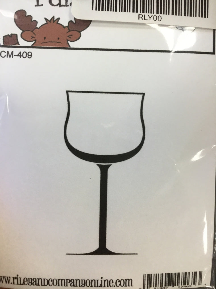 Funny bones- wine glass