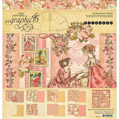Princess 12x12 collection kit