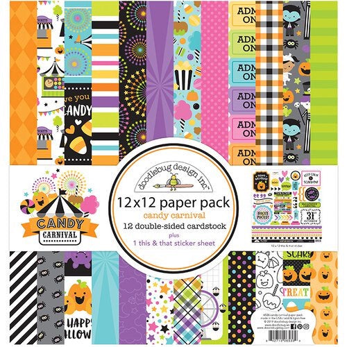 Candy Carnival 12x12 paper pack