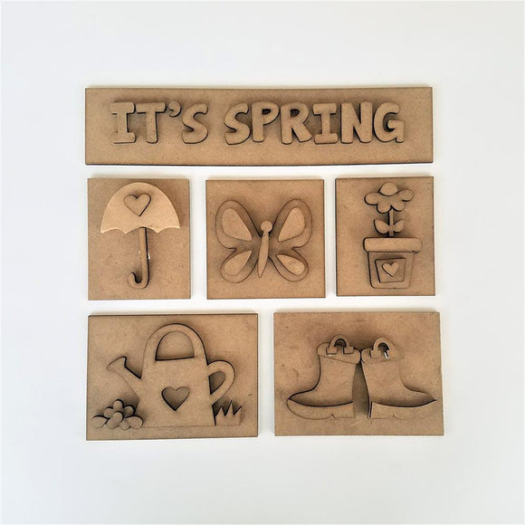 Monthly Shadow Box Club - It's Spring Edition Wednesday, April 24th 5:30-9pm