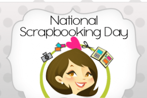 National Scrapbook Day Crop May 4th from 10am -10pm