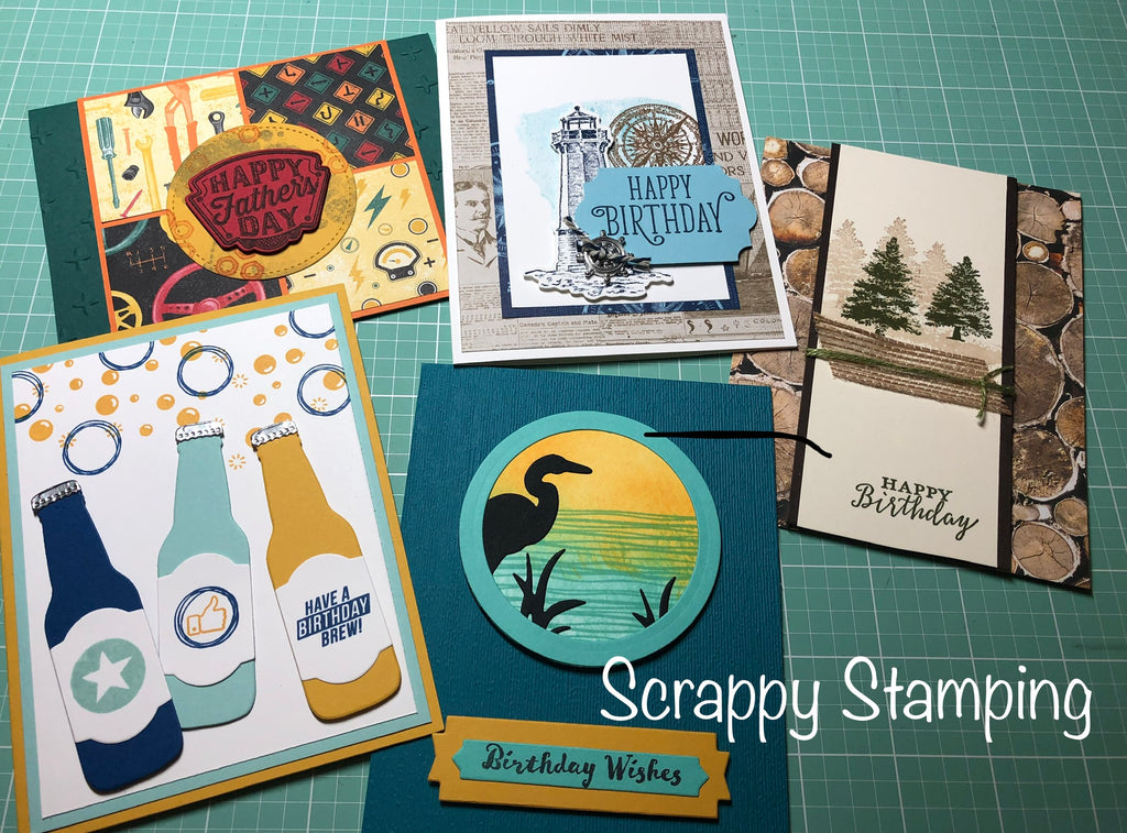 Stampin Up Card Class Thursday, June 6th 5:30-7pm