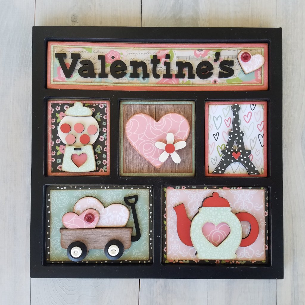 Monthly Shadow Box Class - Valentine's edition Wednesday, January 30th 5:30-9pm