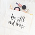 Be Still And Know Cosmetic Bag