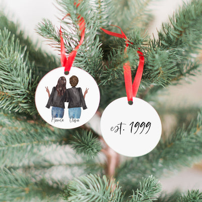 Best Friends Ornament