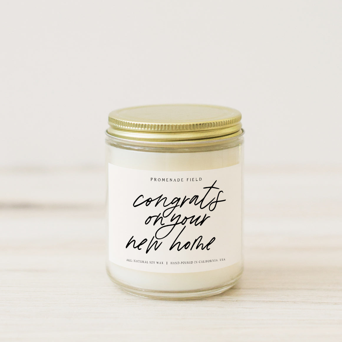 Congrats On Your New Home Candle
