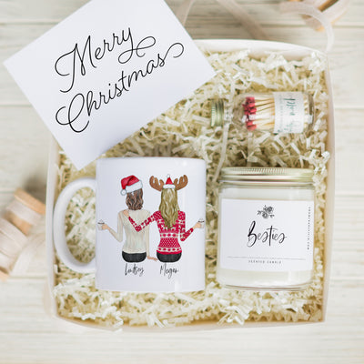 The Holiday Portraits Mug & Candle Gift Set