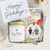 The Pet Portraits Candle & Ornament Gift Set (Couple Version)