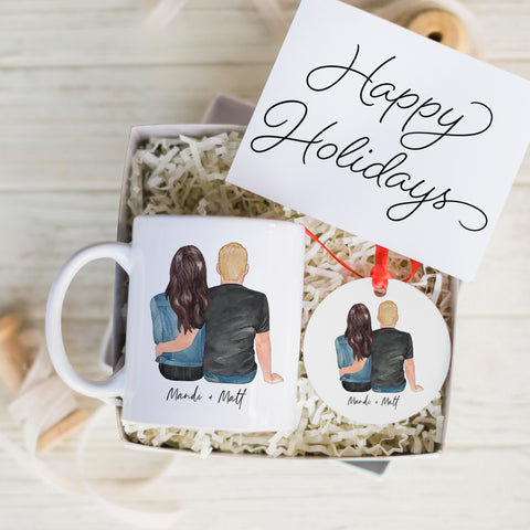 The Couples Mug & Ornament Gift Set