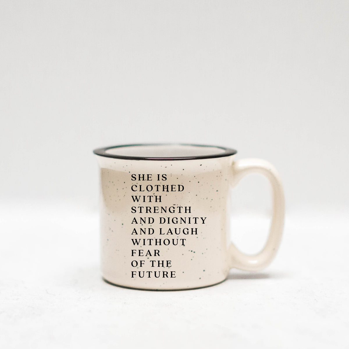She Is Clothed With Strength & Dignity Mug