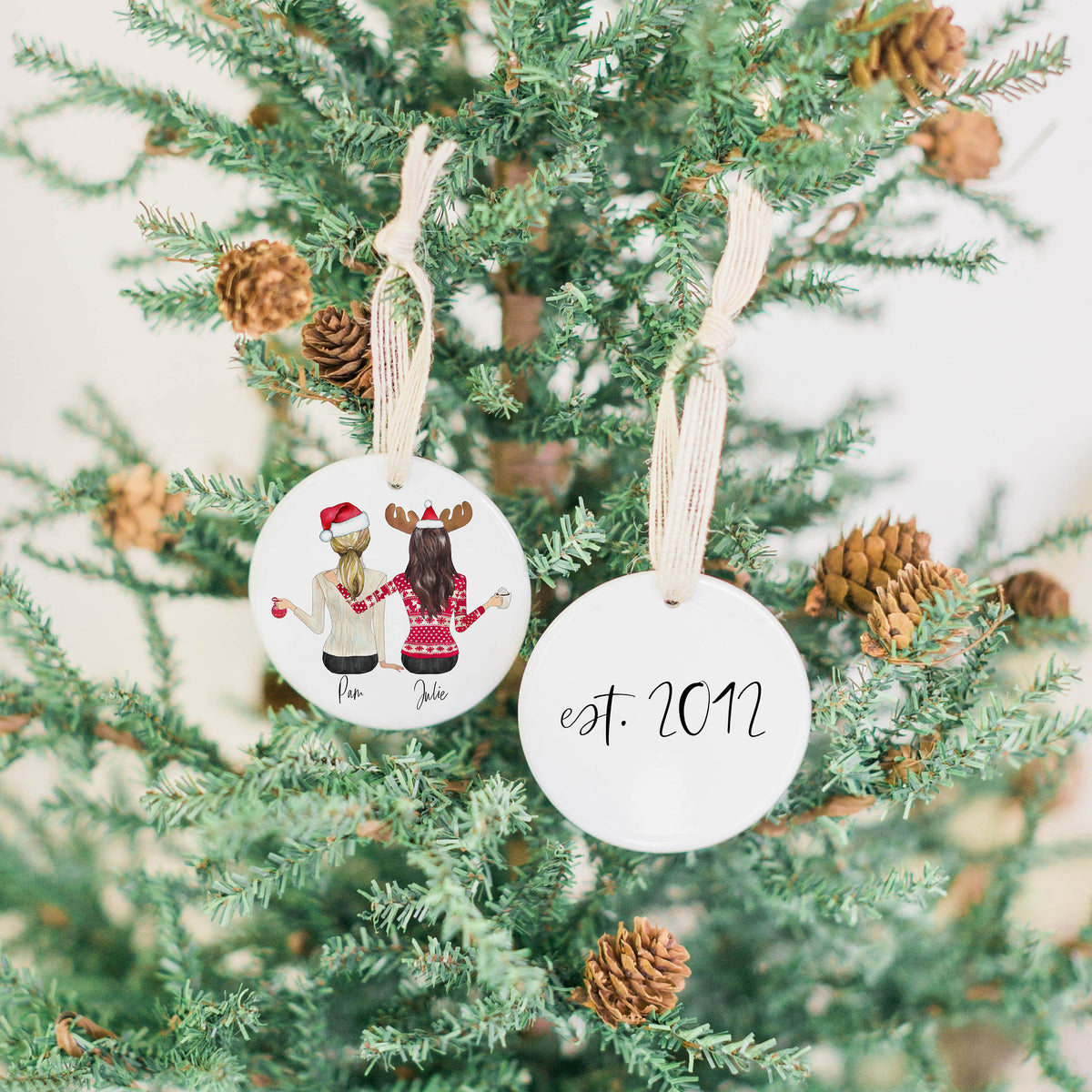 Holiday Portraits Ornament
