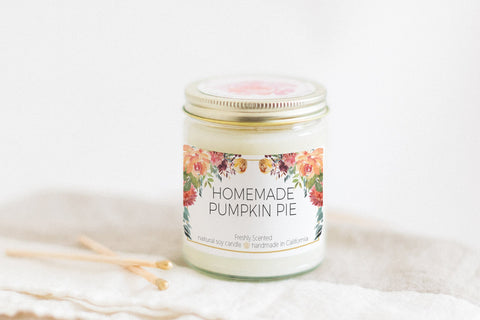 Homemade Pumpkin Pie 7 oz Candle (Limited Edition)