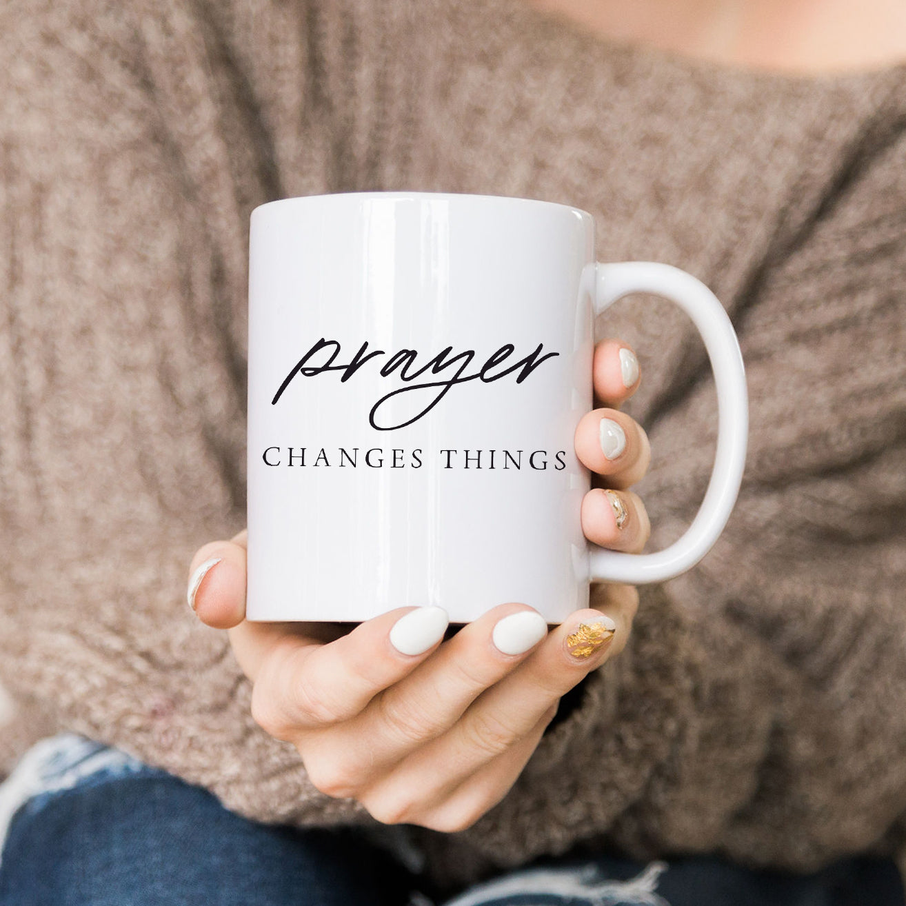 Prayer Changes Things Mug