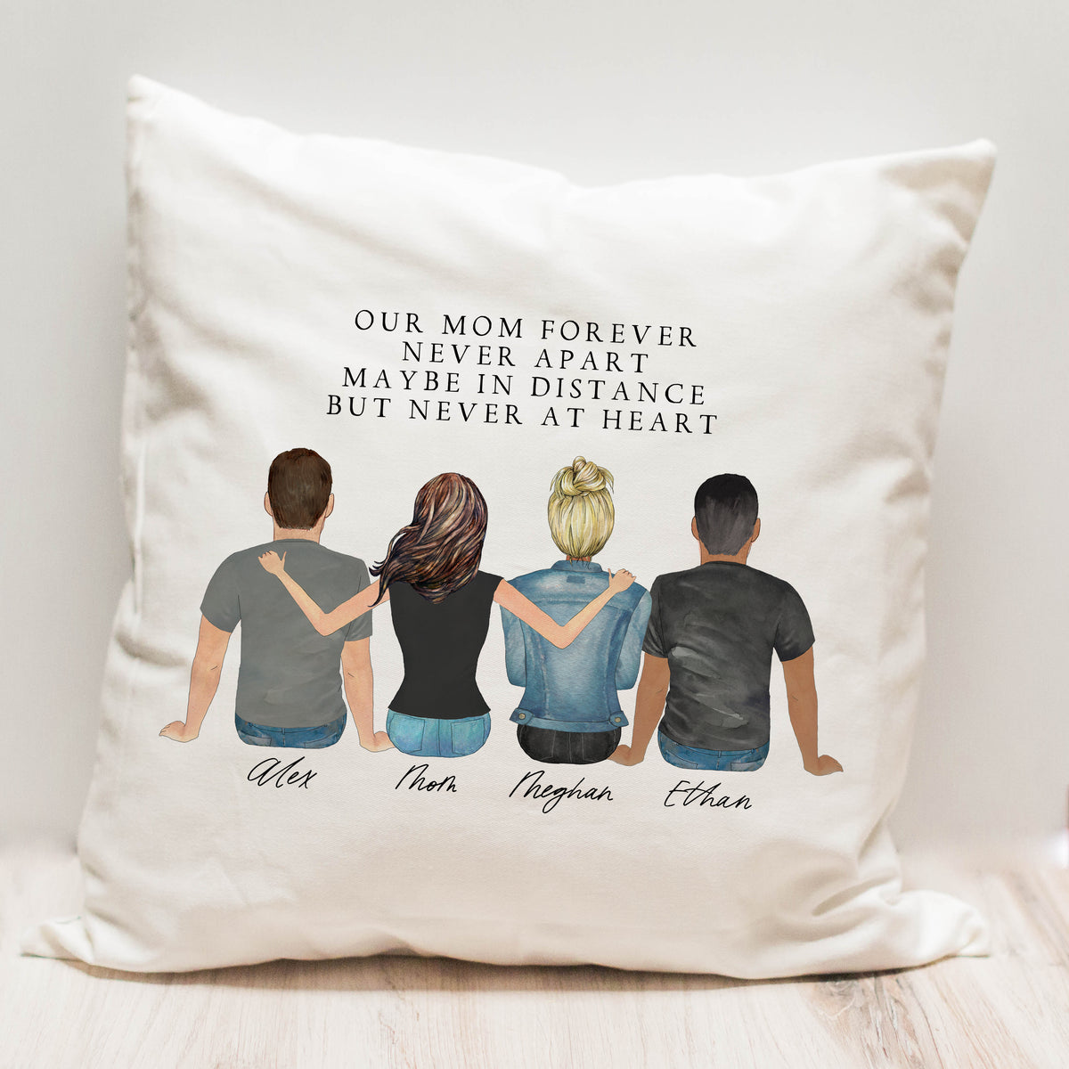 Portraits Pillow (4 People)