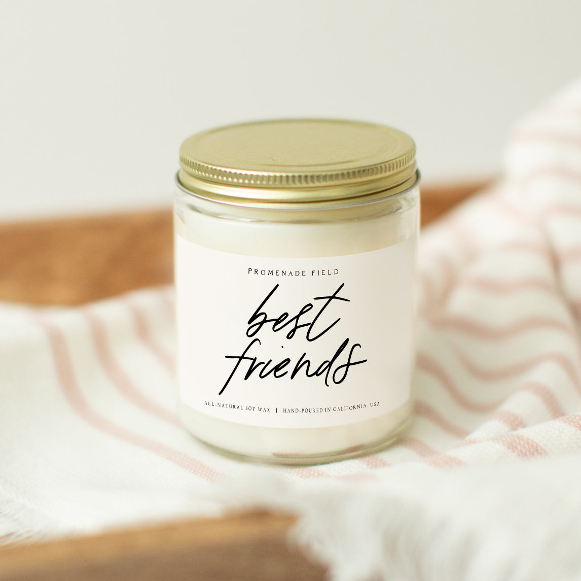 Best Friends Candle