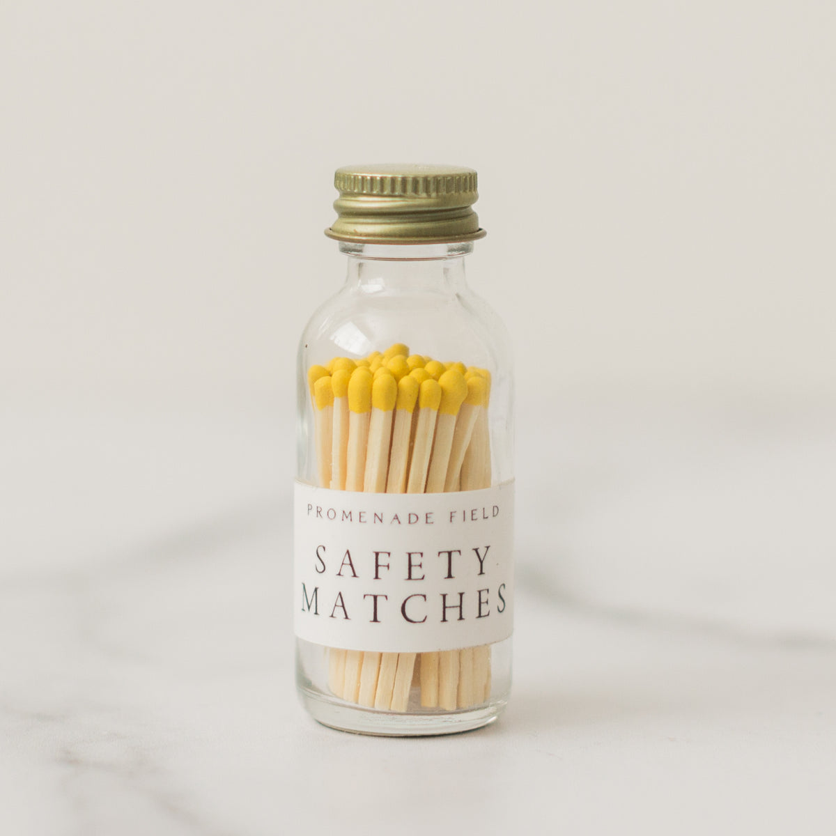 Yellow Safety Matches