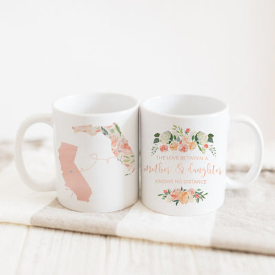 The Love Between A Mother & Daughter Knows No Distance Mug