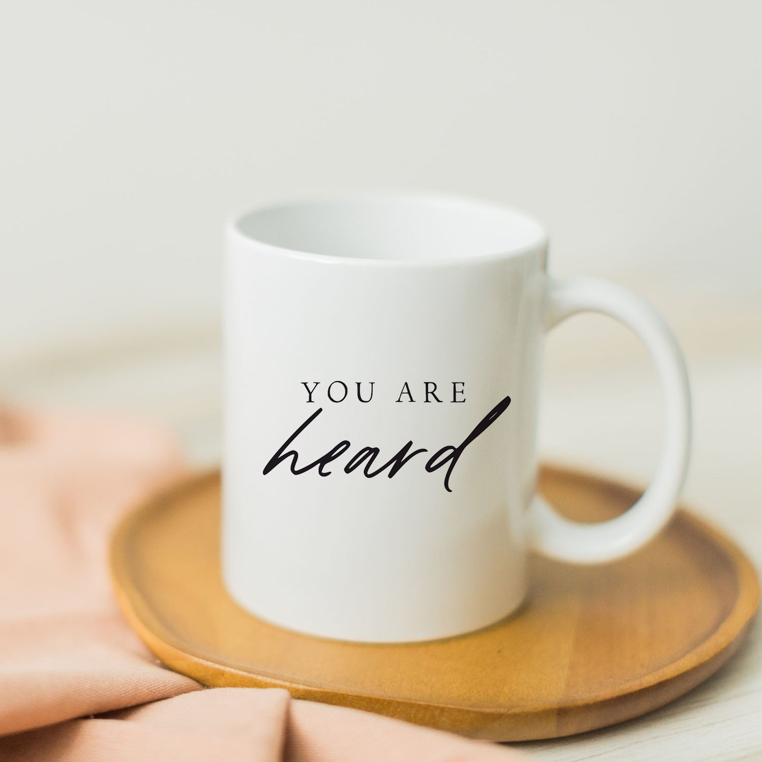 You Are Heard Mug