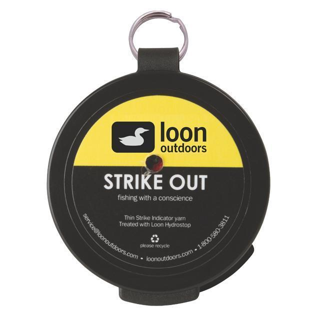 Loon Outdoors Loon Strike Out Weights / Indicators / Floatants Orange