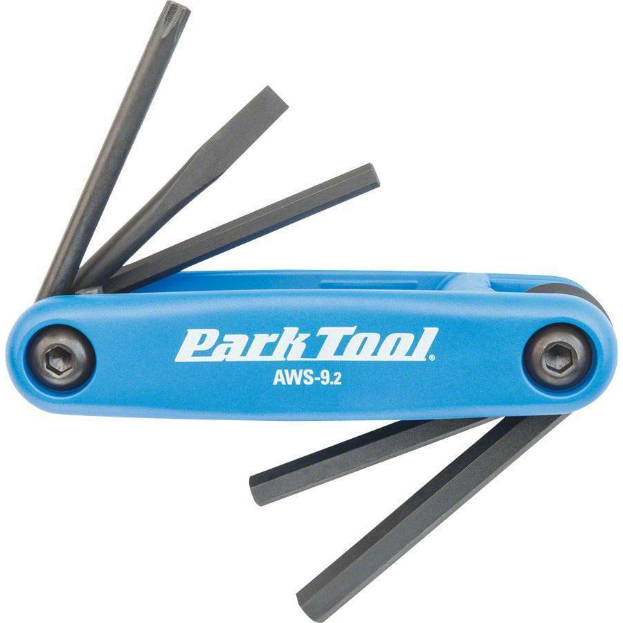 Park Tool Park Tool AWS-9.2 Fold-Up Hex Wrench Set Tool