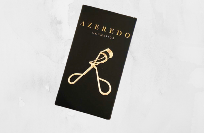 Azeredo Cosmetics Eyelashes Curler.  Enhancing the length of your natural lashes.